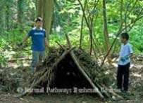 Making a Debris Shelter