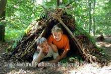 Family Bushcraft Day - Fire and Shelter